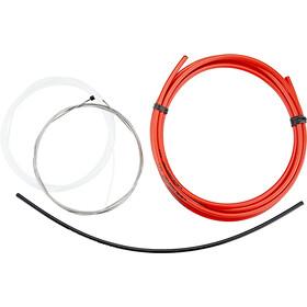 Jagwire 1X Elite Sealed Stealth Set de câble de dérailleur, red
